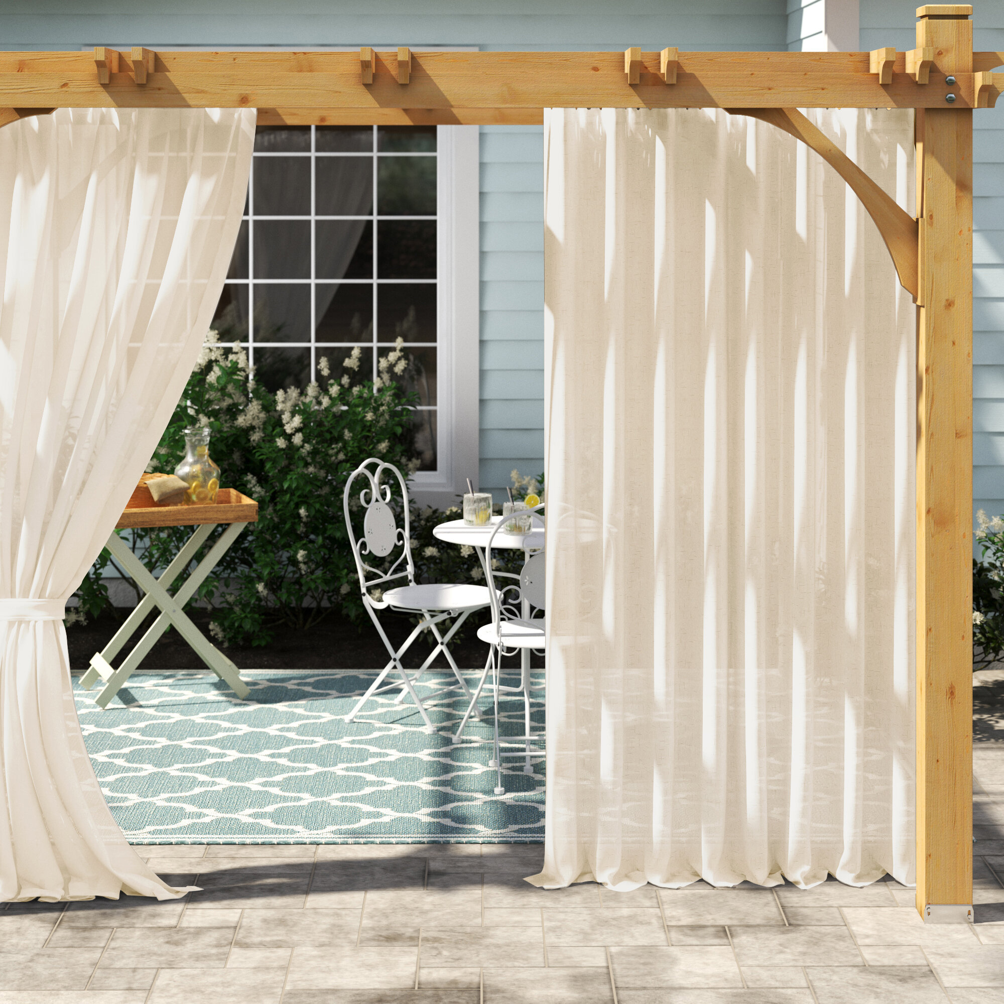 Outdoor Curtains Wayfair