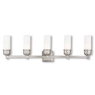 Compare & Buy Johnstown  5-Light Vanity Light By Latitude Run