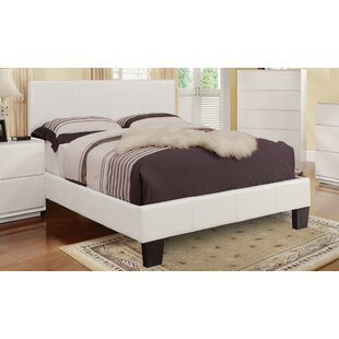 feature Affordable Upholstered Platform Bed By WorldWide HomeFurnishings