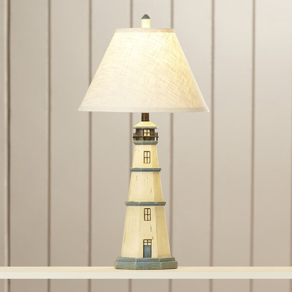 Breakwater Bay Meaney Lighthouse Table Lamp Reviews Wayfair
