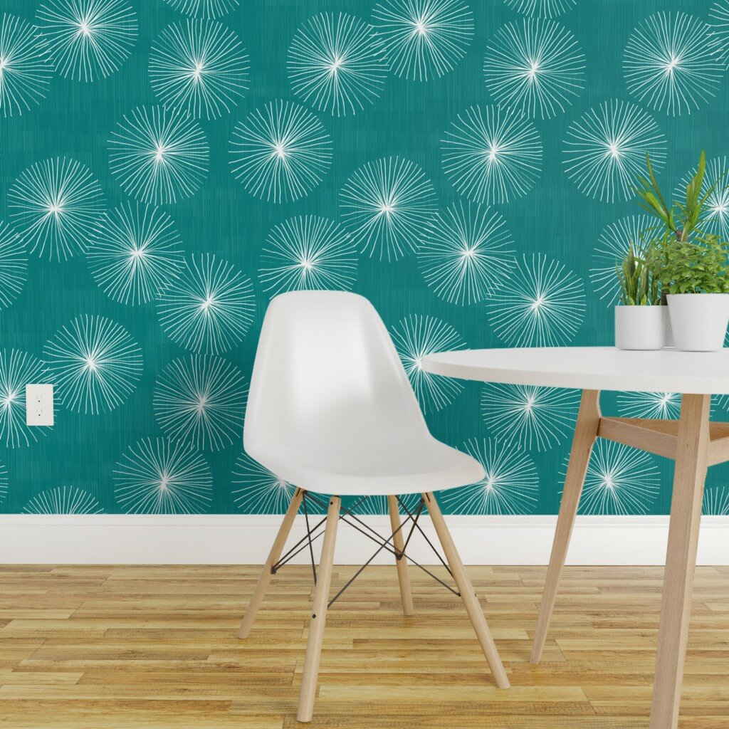 Picture of: Wallpaper Tools Accessories Peel And Stick Removable Wallpaper Mod Geometric Chair Mid Century Modern Podh Com Br