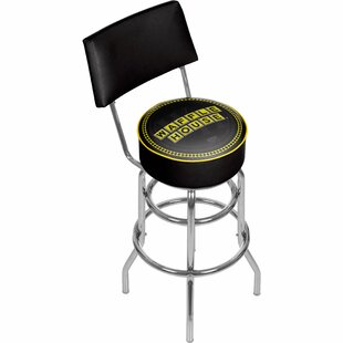 Waffle House 31 Swivel Bar Stool by Trademark Global Purchase