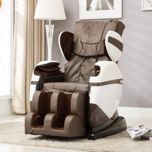 Brayden Studio Multifunction Electric Automatic Reclining Full Body Heated Zero Gravity Massage Chair