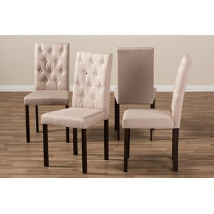 Cadena Upholstered Dining Chair (Set of 4) DarHome Co