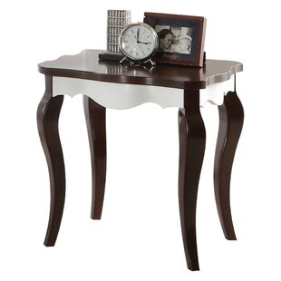 Beier Wooden End Table by House of Hampton