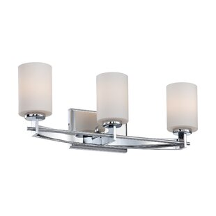 Latitude Run Burchell 3-Light Vanity Light