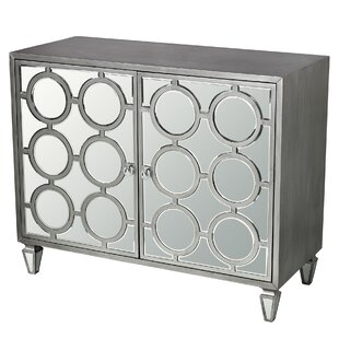 Mercer41 Apollo Platinum Ring Accent Cabinet