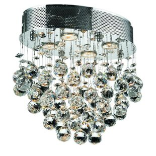 Deidamia 4-Light Semi Flush Mount by Everly Quinn