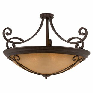 Budapest 10-Light Semi Flush Mount by Lumenno