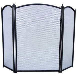 3 Panel Fireplace Screen By Marlow Home Co.