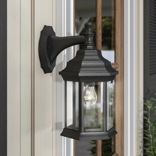 Oakford 1-Light Outdoor Wall Lantern by Three Posts