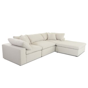 Kadence 133 Reversible Sectional with Ottoman by Latitude Run