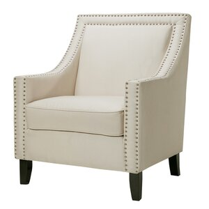 Trefethen Wood Accent Arm Chair by Charlton Home