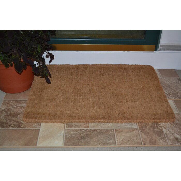 mats pdp rugs studio wayfair doormat ca coir door mat plain red barrel windermere