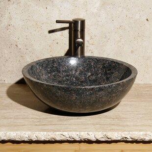 Price Check Stone Circular Vessel Bathroom Sink ByAllstone Group