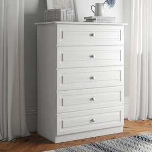 Russel 5 Drawer Chest Of Drawers By Brambly Cottage