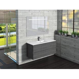 Giovani Bathroom 1000mm Wall Hung Single Vanity Unit By Belfry Bathroom