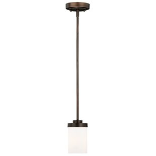 Gallman 1-Light Cylinder Pendant