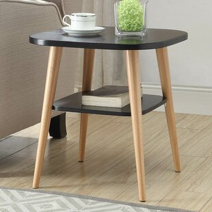 Ulrey Modern Wood End Table by George Oliver