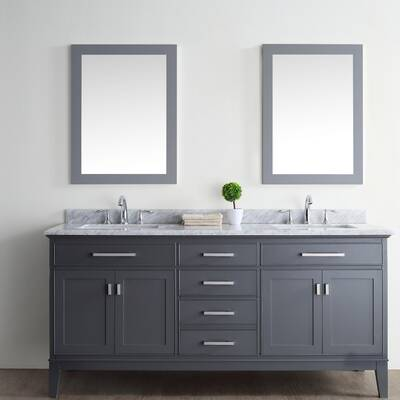"Arminta 72"" Double Bathroom Vanity Set"