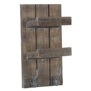 Bowles Wooden Shelf Wall Mounted Coat Rack By Union Rustic