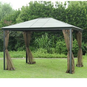 Replacement Mosquito Netting for 10' W x 12' D PC Single Top Gazebo