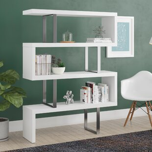Reviews Belafonte Geometric Bookcase by Wade Logan