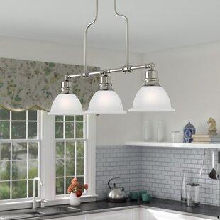 Gradall 3-Light Kitchen Island Pendant