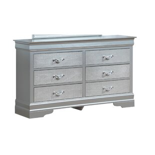 Paignton 6 Drawer Double Dresser