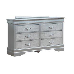 Paignton 6 Drawer Double Dresser