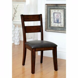 RJ Cottage Solid Wood Dining Chair (Set of 2) Red Barrel Studio