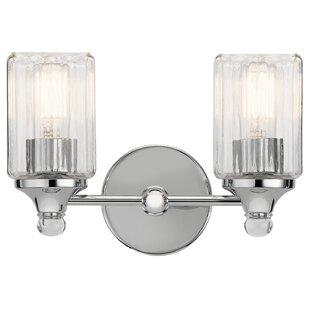 Ebern Designs Mcdougal 2-Light Vanity Light