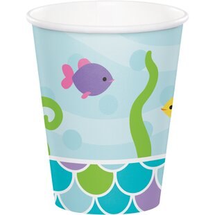 Mermaid Friends Paper Disposable Cup (Set of 24)