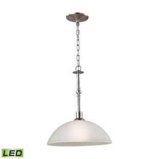 Winston Porter Berndt 1-Light LED Dome Pendant