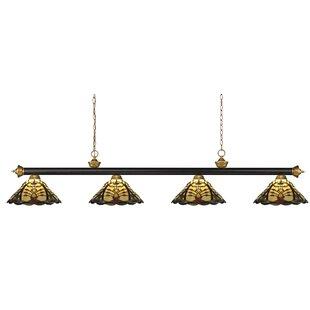 Fleur De Lis Living Billington 4-Light Pool Table Light Pendant