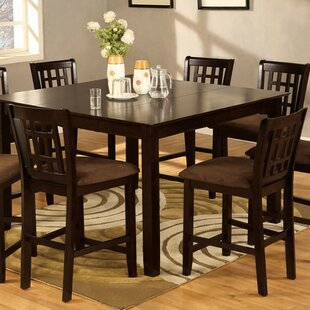 Susie Cottage Counter Height Solid Wood Dining Table