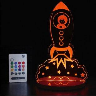 Tulio Dream Lights Rocket Ship Night Light