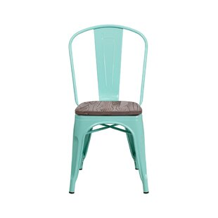 Nona Metal Stackable Dining Chair
