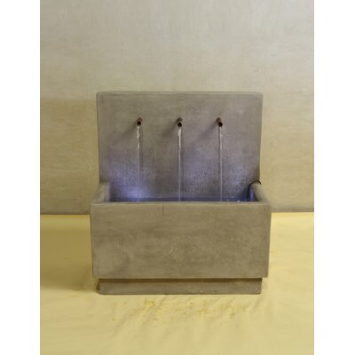 Giannini Garden Ornaments Tribus Concrete Wall Fountain