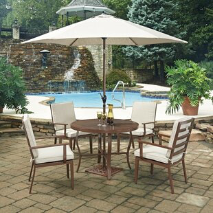 Home Styles Key West 7 Piece Dining Set with Cushion