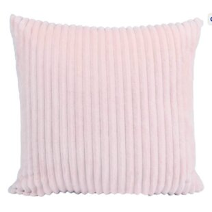 Tressie Faux Fur Throw Pillow