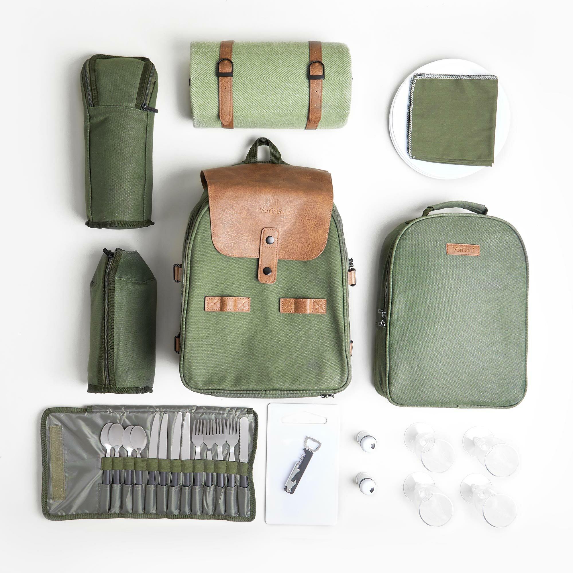 Vonshef Adventure Picnic Backpack Reviews Wayfair Co Uk