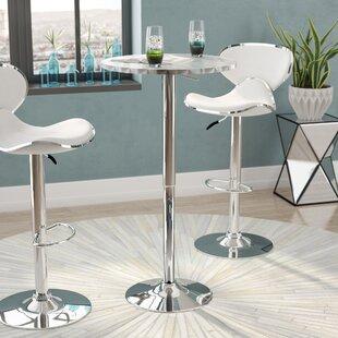 Wrought Studio Adlai Adjustable Height Pub Table