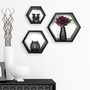 Gallery Solutions 3 Piece Hexagallery Wall Decor Set