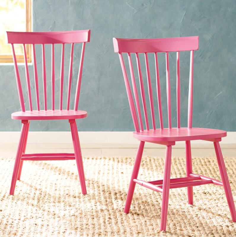Lark Manor Saint-Pierre Solid Wood Dining Chair & Reviews | Wayfair