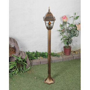 Bauer 1-Light 103cm Post Light By Marlow Home Co.
