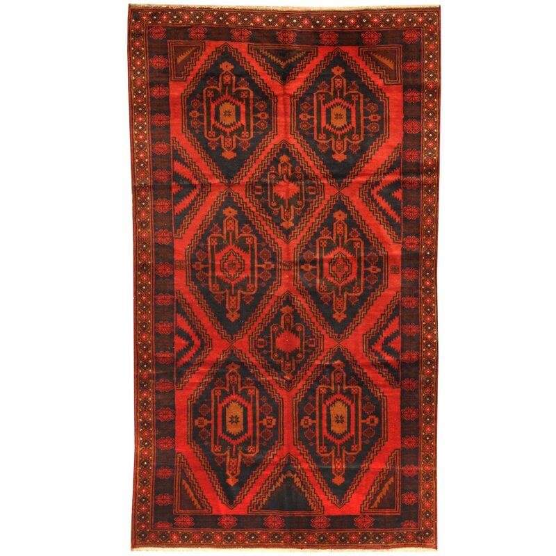 Isabelline Prentice Hand Knotted Wool Multicolor Area Rug Wayfair