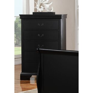 Bois 5 Drawer Chest by Charlton Home
