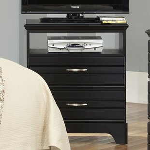 Della 2 Drawer Media Chest