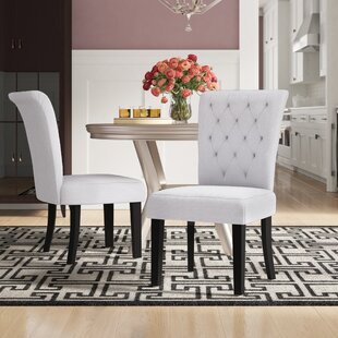 Brady Upholstered Dining Chair (Set Of 2) by Willa Arlo Interiors Cool